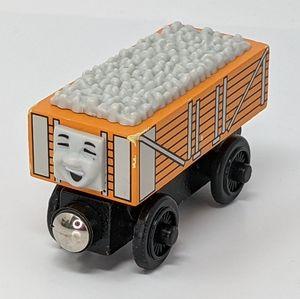 Thomas Train Rickety Orange Wood Wooden Railway